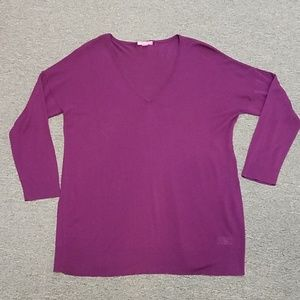 NWot light weight V-neck sweater size 18/20